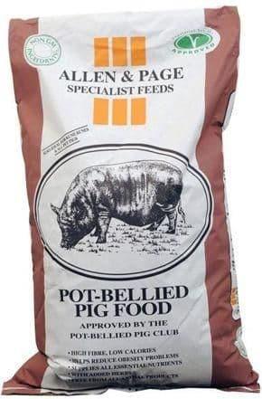 A & p pot bellied pig cubes